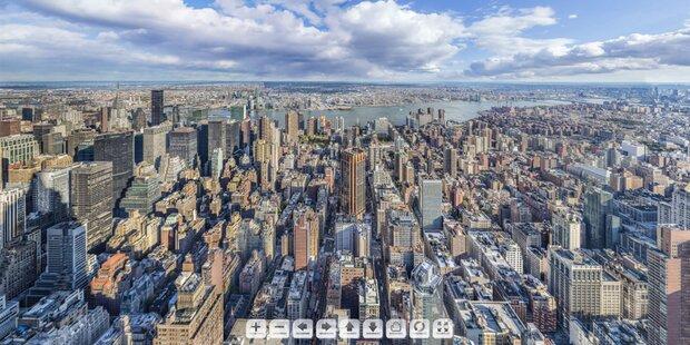 20 Gigapixel: Größtes Foto zeigt New York