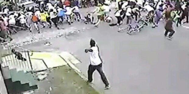 Polizei schnappt Muttertags-Schützen