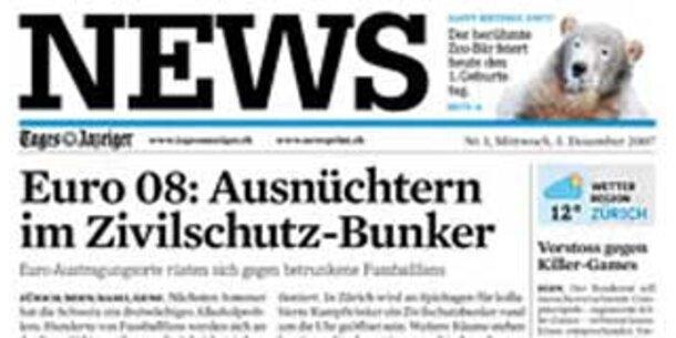 News in der Schweiz gestartet