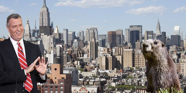 New Yorks Bürgermeister tötete Murmeltier