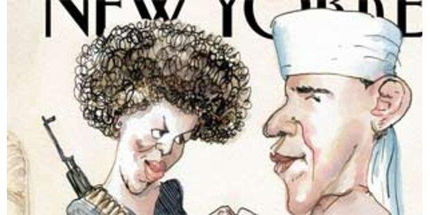 Obama-Karikatur sorgt für Aufregung
