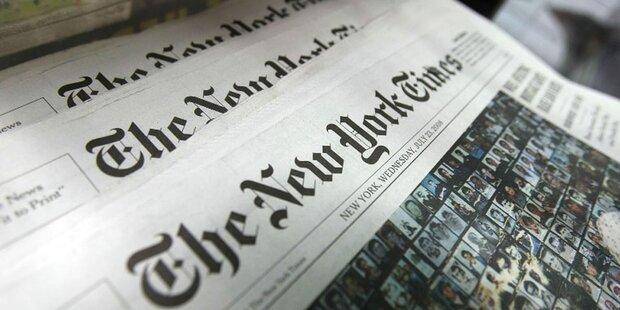 Verlag der New York Times hat mehr verdient