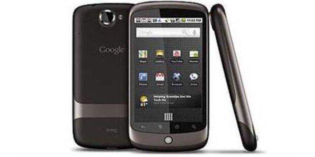 Multitouch & neue Dienste fürs Nexus One