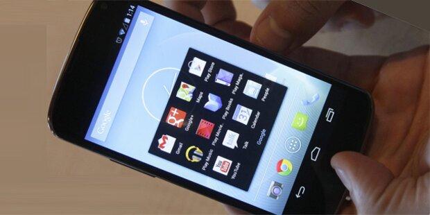 Android 4.2: Google vergisst Dezember