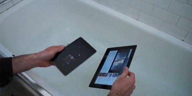 Video: Nexus 7 und neues iPad im Härtetest