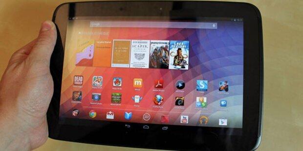 Neues Nexus 10 kurz vor Start