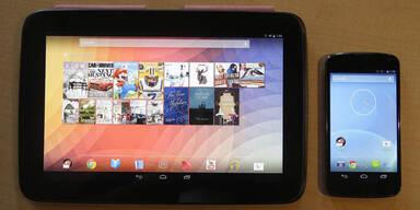 Google greift mit Tablet & Smartphone an