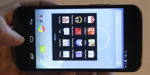 Android 4.2: Dezember kehrt zurück