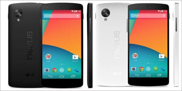 Nexus 5 bereits vorbestellbar