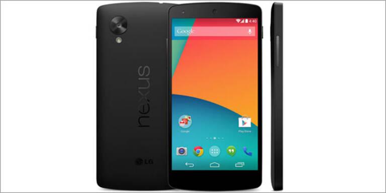 Nexus 5: Offizielles Foto und Preis geleakt