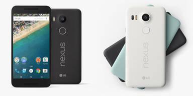 Nexus 5X ab sofort in Österreich