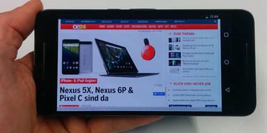 Das Nexus 6P im großen oe24.at-Test