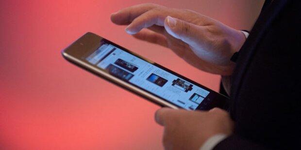 Google bringt 10-Zoll-Tablet