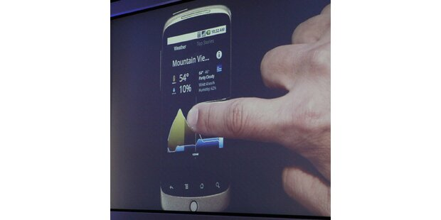 Google präsentiert Nexus One