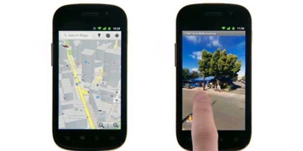 Google macht Android 2.3-Handys 3D-fähig