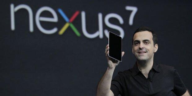 Nexus 7 bei uns am ersten Tag ausverkauft