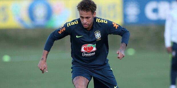Feiert Neymar gegen Österreich Comeback?