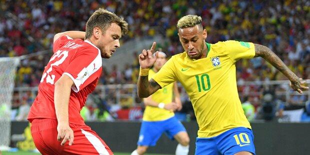 2:0 - Brasilianer fangen an zu zaubern