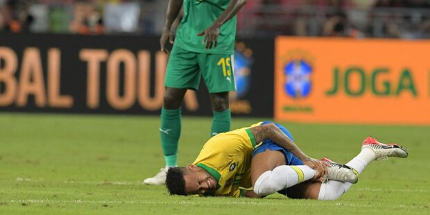 Irre Pechsträhne: Neymar erneut verletzt
