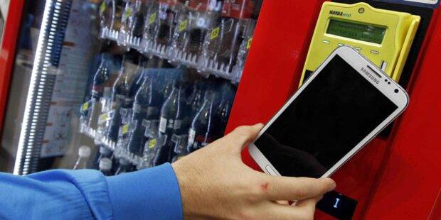 Neuer Schub für Bezahlen per Handy