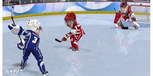 3 on 3 NHL Arcade bringt das Eis zum Glühen
