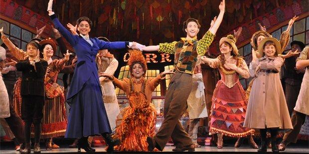 Der erste Blick auf Mary Poppins