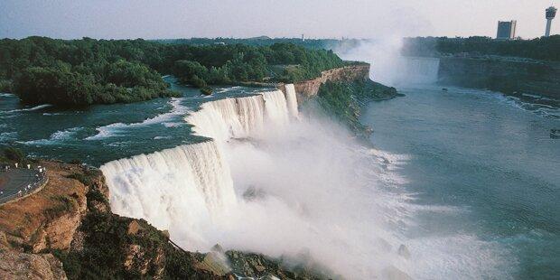 Mann stirbt bei zweitem Sturz in die Niagara-Fälle
