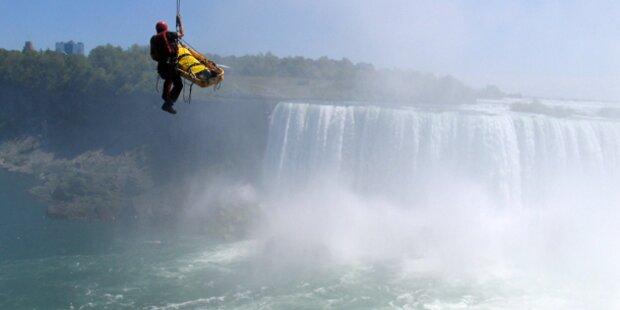 55-Meter-Sturz über Niagarafälle überlebt