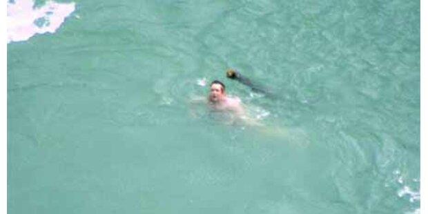 Mann überlebte Sprung in Niagarafälle