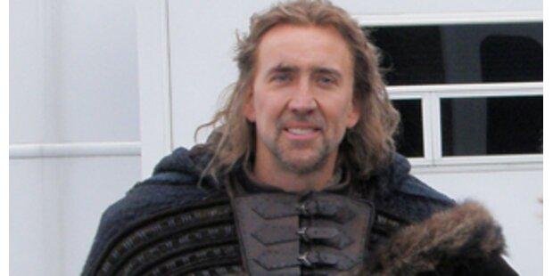 Filmstar Nicolas Cage dreht in NÖ