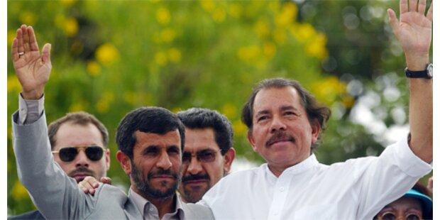 Ahmadinejad sucht Ortega als Verbündeten