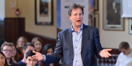 Nick Clegg wird neuer Facebook-PR-Chef