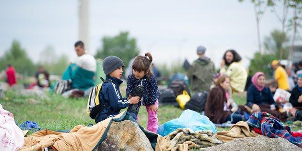 Flüchtlinge: UNHCR lobt Grenzöffnung