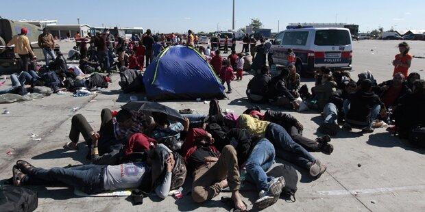 Flüchtlinge: 1.000 von Burgenland nach Kärnten
