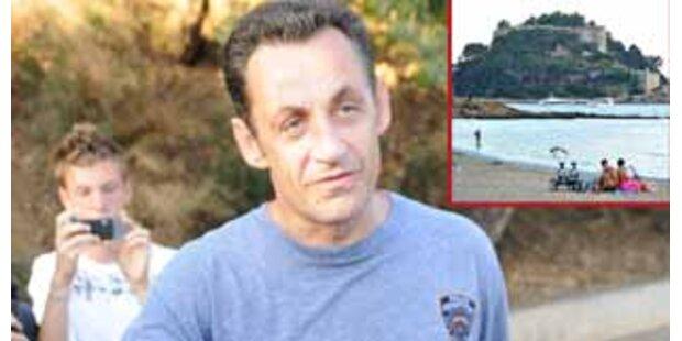 Sport und Enstpannung - So urlaubt Sarkozy