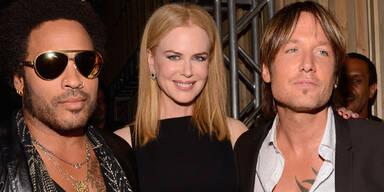 Nicole Kidman, Lenny Kravitz & Keith Urban