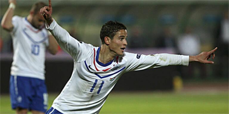 Niederlande eilen Richtung EURO 2012