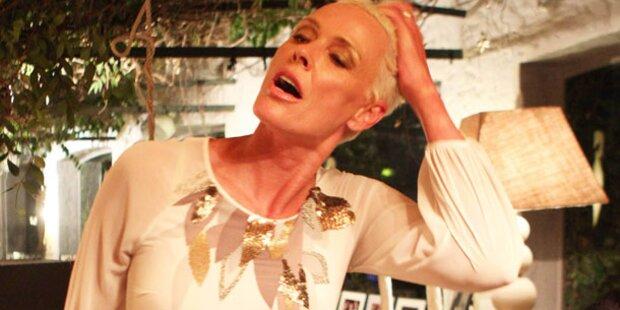 Brigitte Nielsen besoffen im Park erwischt
