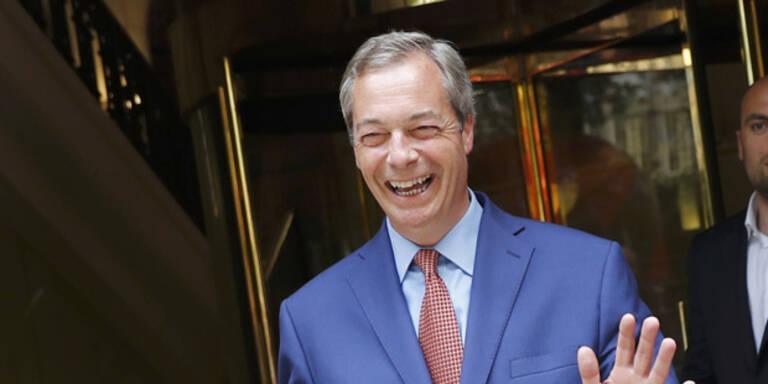 """Farage: """"Ihr werdet uns in sechs Monaten folgen"""""""