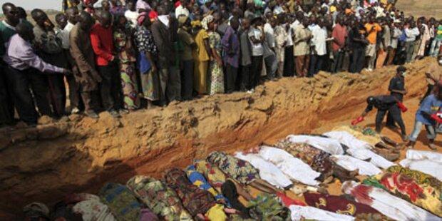 96 Festnahmen nach Massaker in Nigeria