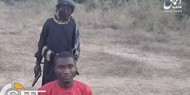 Bub (8) als Henker: IS schockt mit Exekution
