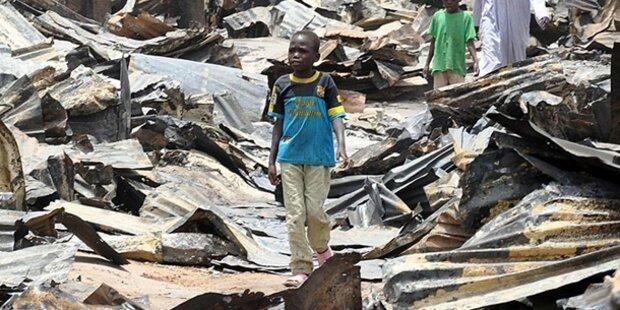 Explosion in Einkaufszentrum: 30 Tote