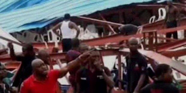 Kirche eingestürzt: Mehr als 200 Tote?