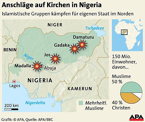 Anschläge in Nigeria