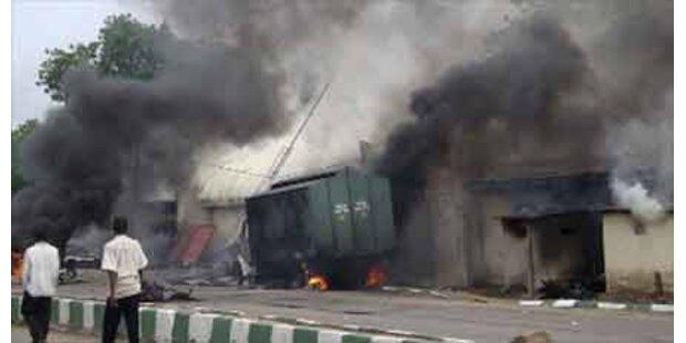 200 Tote bei Straßenkämpfen in Nigeria
