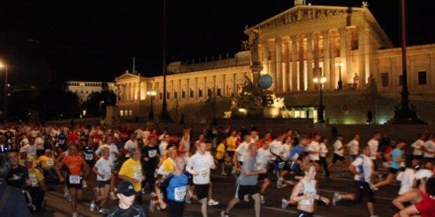 Vienna Night Run auf der Ringstraße