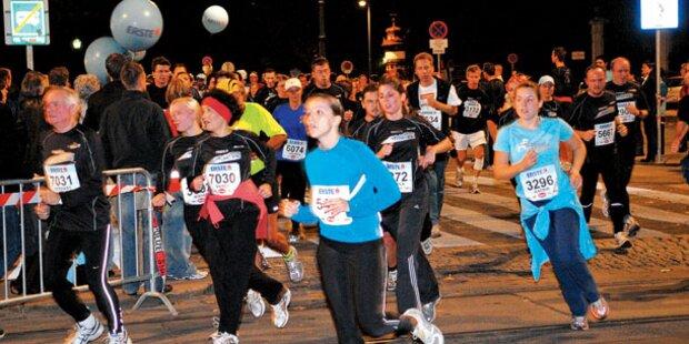 Promis bei Vienna Night Run