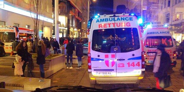 Nike-Store: Verletzte bei Massenpanik