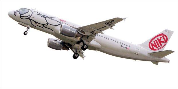 Niki unpünktlichste Airline in Europa