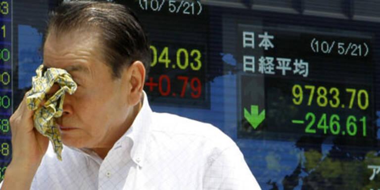 Börse Tokio setzt Talfahrt  fort